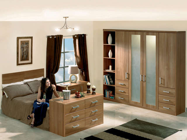 Contemporary Quality Fitted Bedroom Furniture Design Fitted
